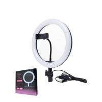 Кольцевая Лампа LED RING 31см с Держателем для Смартфона Купить Недорого с Доставкой