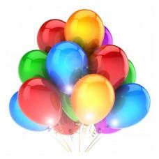 Светящиеся шарики, мигающие воздушные шары